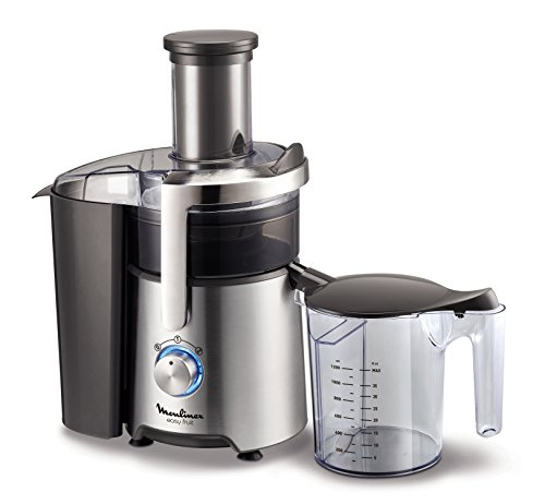 Moulinex JU610D10 Centrifugeuse Easy Fruit Appareil Extracteur de Jus Fruits ou Légumes 2 Vitesses...