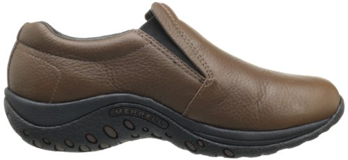 Merrell Jungle Moc pour homme en cuir Marron - Mahogany Brown