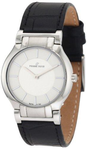 Pierre Petit - P-799B - Montre Femme - Quartz Analogique - Bracelet Cuir Noir