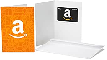 Amazon.co.uk Gift Card - In a Greeting Card - £10 (Amazon A)