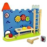 I'm Toy Kugelbahn 'Burg' | Multifunktions-Spielbahn aus Holz ab 18 Monaten