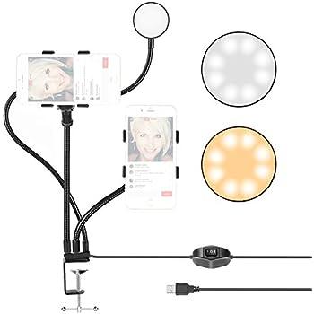 Neewer Ringlicht mit Handyhalter für: Amazon.de: Kamera
