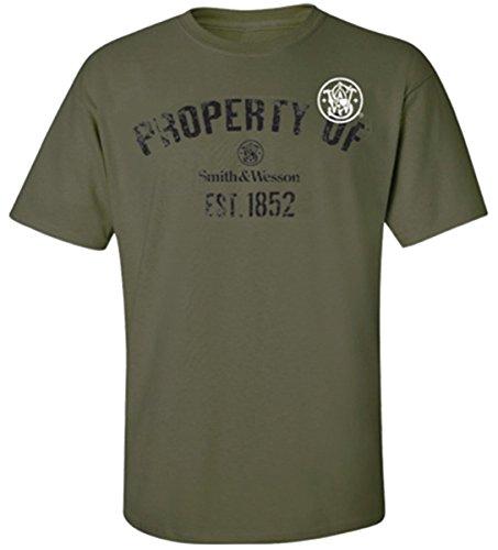 Smith & Wesson Eigentum von T-Shirt, Grün, 13SWS033-GRN-XL