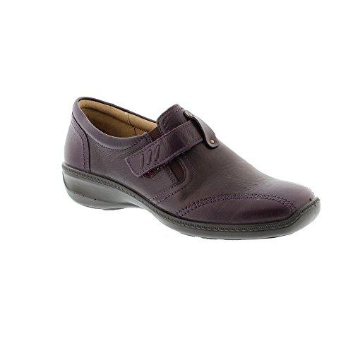 Hotter Francis, Chaussures Plates Femme Plum