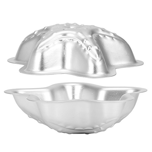 Handgemachte Badebombe Formen Fizzy Crafting DIY Kuchenform Werkzeuge Aluminiumlegierung 2 PCs(Set 19 (Two Sea Star Shape)) (Bomb Lush Bath)