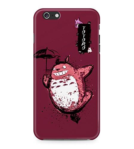 My Neighbor Totoro Splatter Hard Plastic Snap On Back Case Cover For iPhone 6 / 6s Custodia