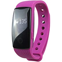 Bobury Pulsera Inteligente Bluetooth para Smart Bracelets Pulsera Fitness para Bluetooth para Android iOS