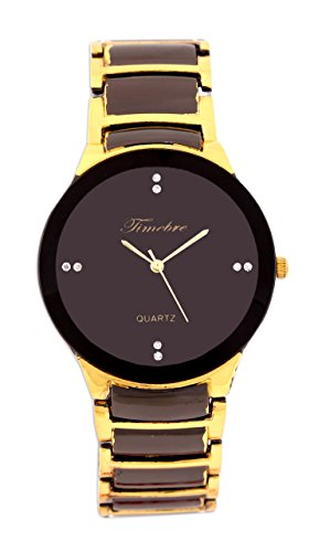 Timebre Men Party Black Gold Watches-95 image