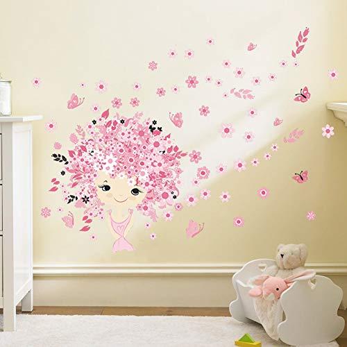 Princess Castle, Kinderzimmer Schlafzimmer, Wandaufkleber, Wandbild Großhandel, Abnehmbare, Wasserdichte Aufkleber PVC -