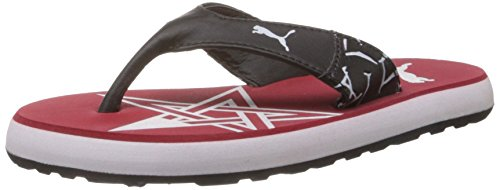 Puma Unisex Star Flip Jr Ind. High Risk Red, Black and White Sports Shoes - 11C UK  available at amazon for Rs.749