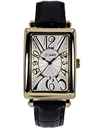 20ec3de46a4 ZOMO Annals Mens Swiss Quartz Analog Wrist Watch Stainless Steel Rectangular  case Dress Watches for Men…