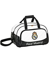 Safta 047120 Real Madrid Bolsa Deporte, Color Blanco