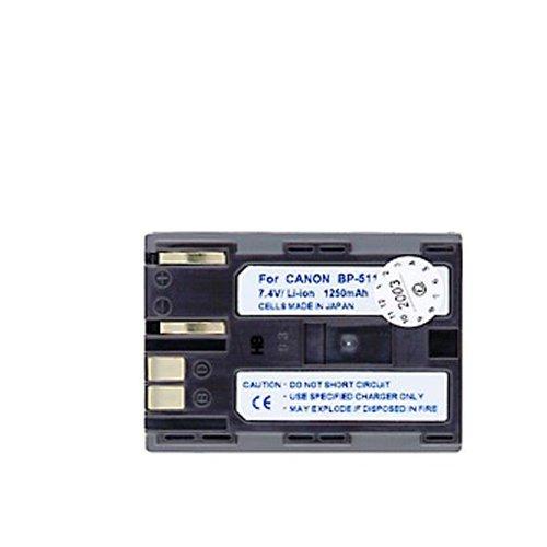 Akku kompatibel mit Canon DM-MV100X, DM-MV100Xi, DM-MV30, DM-MV400, DM-MV430, DM-MV450, DM-MVX1i, EOS 10D, 20D, 20Da, 300D, 30D, 40D, 50D, 5D, D30, D60, Digital Rebel, Kiss Digital, FV10, FV100, FV2, FV20, FV200, FV30, FV300, FV40, FV400, FV50, FVM1, FVM10, IXY DVM, Media Storage M30, Media Storage M80, MV300, MV300i, MV30i, MV400i, MV430i, MV430IMC, MV450i, MV500, MV500i, MV530i, MV550i, MV600, MV600i, MV630i, MV650i, MV700, MV700i, MV730i, MV750i, MVX100i, MVX150i, MVX2i und weitere Modelle Canon Bp-511a