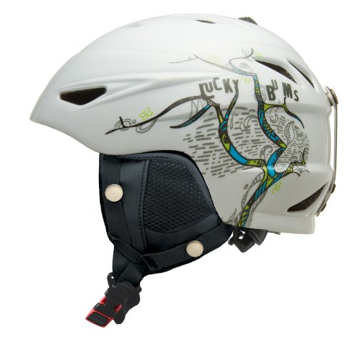 lucky-bums-jouet-alpine-series-casque-de-ski-cherry-blossom-large-blanc-blanc