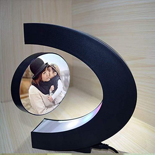 Signstek Cadre de Photo Créatif, Cadre Photo Maglev avec LED Lumière,Cadre électroniqu