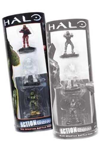 (Halo Action Clix Classic Spartan (rot, 3Stück))