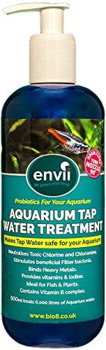Envii Aquarium Tap Water Treatment - Tap Water Conditioner Removes Chlorine, Adds Essentials Vitamins & Stimulates… 1