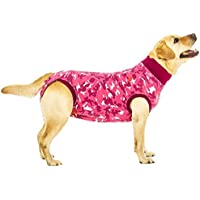 Suitical Recovery Suit for Dogs - Pink Camo - Size X-Small