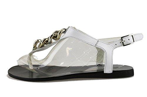 CULT sandali donna bianco pelle AH888 (40 EU)