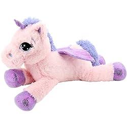 Sweety Toys 8025 unicornio en peluche oso de peluche 65 cm rosa
