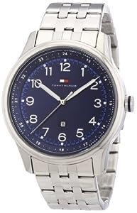 Reloj Tommy Hilfiger 1710308 de cuarzo para hombre con correa de acero inoxidable, color plateado de Tommy Hilfiger Watches