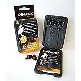 Pinlock Bouchons d'oreilles- Protection auditive- Spécialement conçus pour casque- Communication