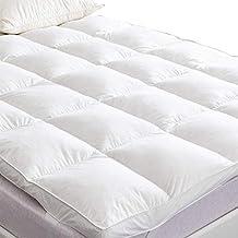 SUFUEE Surmatelas en Duvet d oie, décoration pour lit de 7 cm d  e5dfd719cca4