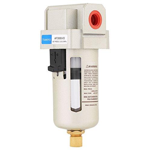Feuchtigkeitsluftfilter, 1 Stück AF3000-03 G3 / 8 '' Druckluftkompressor In Line Feuchtigkeitsfilter, hohe Filtrationsgenauigkeit, lange Lebensdauer, sicher und zuverlässig -