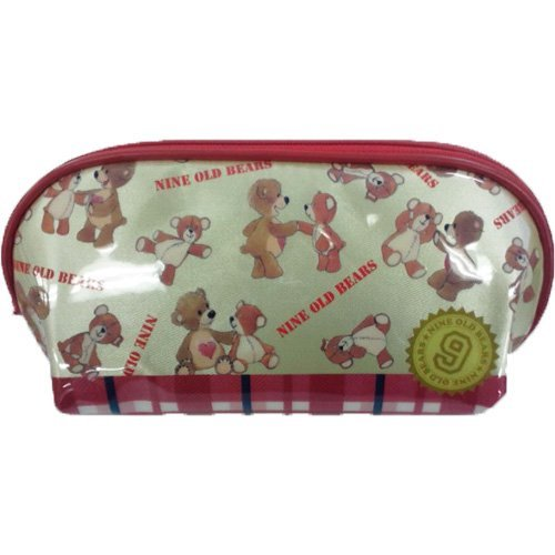 ine Old Bears shell type pencil case Red SZ-22444 (japan import) ()