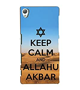 Fiobs Designer Back Case Cover for Sony Xperia Z5 :: Sony Xperia Z5 Dual 23MP (Muslim Spiritual 786 Holy Islam Lord Allah Devotional )