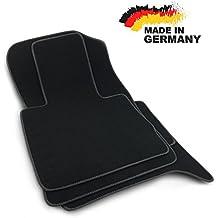 Fußmatten für BMX X5 E70 alle Velours Premium Qualität Autoteppiche Schwarz Set