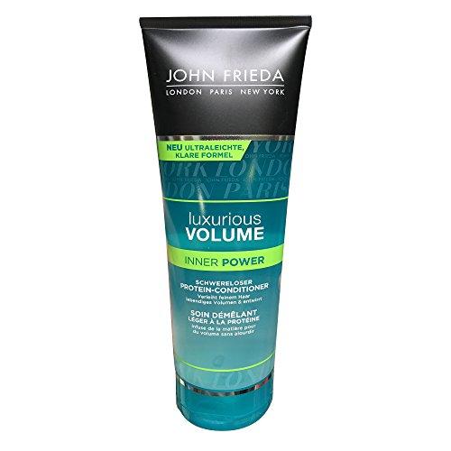 3 Protein Conditioner (John Frieda Luxurious Volume Inner Power Protein-Conditioner 250 ml Conditioner für Volumen)