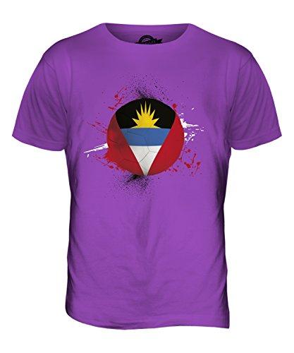 CandyMix Antigua Und Barbuda Fußball Herren T Shirt Violett