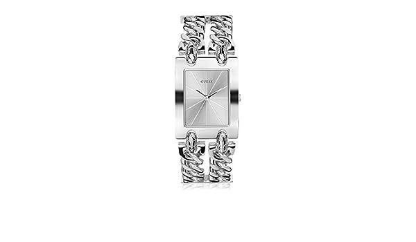 Guess damen armbanduhr analog quarz edelstahl w0311l1