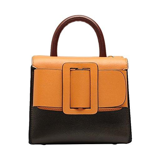Mena UK Retro Fashion Retro Fashion entrambi i lati della scuola con la cinghia di spalla ( Colore : 5# , dimensioni : 20.5cm*17cm*15cm ) 1#