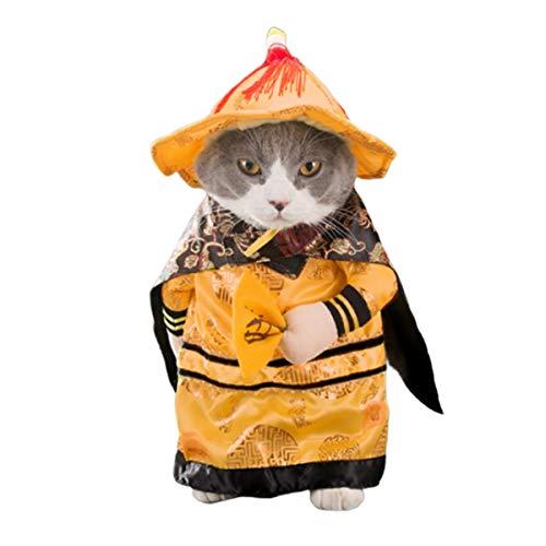 d Katze Halloween Kostüme gedreht Kleid aufrecht Hund Katze Weihnachten Kleidung Herbst und Winter Kleid Komisch Kleidung Party Weihnachten Special Events Kostüm Cosplay ()