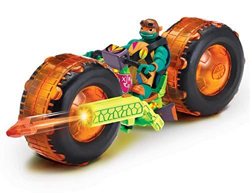 Turtles tuab5100die Rise Fahrzeug mit Figur–Shell Hog mit Mikey MACAPAGAL ()