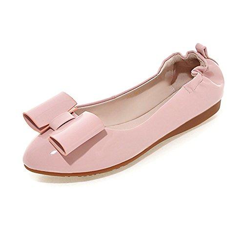 fashion chaussures de Dame egg roll/La version coréenne de chaussures bow fond mou/chaussures pointues en eau peu profonde B