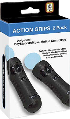RDS Industries Action Grips für PlayStation Move Motion-Controller, 2 Stück