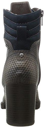 Bugatti 421320331915, Bottes Femme Gris (Dark Grey/ Dark Blue)