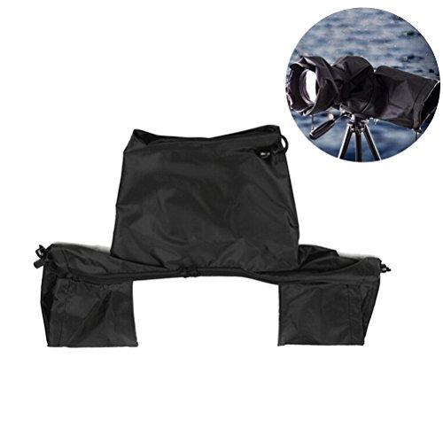 le wasserdichte DSLR Kamera Regenschutz Regen für Canon Nikon und andere digitale Spiegelreflexkameras (schwarz) ()