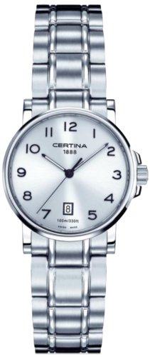 Certina - C017.210.11.032.00 - Montre Femme - Quartz - Analogique - Bracelet Acier inoxydable multicolore