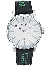 Hugo Boss 1512884 Hombres del Acero Inoxidable Caso Dial de plata reloj de cuarzo