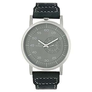Titan Road Trip Analog Grey Dial Men's Watch - 90026SL02J