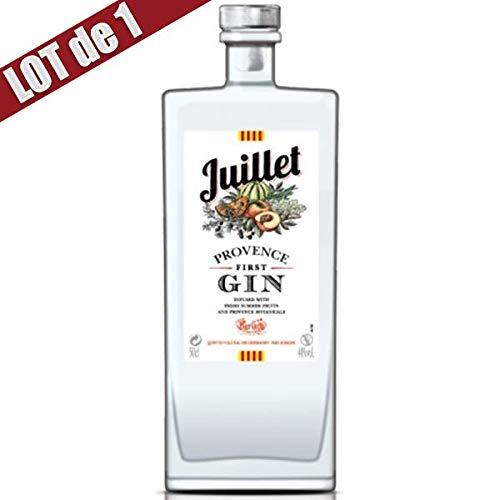 X1 Gin Juillet - 44° - 50 cl - Elaboré en France