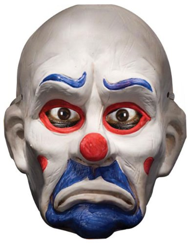 Dark Knight Kostüm Zubehör, Kinder Batman Joker Clown Halbmaske Style 2 (Heath Ledger Joker Outfit)