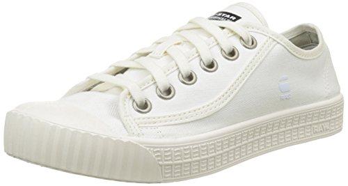 g star schuhe damen G-Star Damen Rovulc Hb Wmn Sneakers, Weiß (White 110), 40 EU