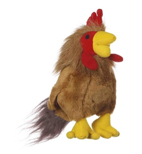 Artikelbild: Multipet's Look Who's Talking Plush Rooster 6-Inch Dog Toy by Multipet International (English Manual)