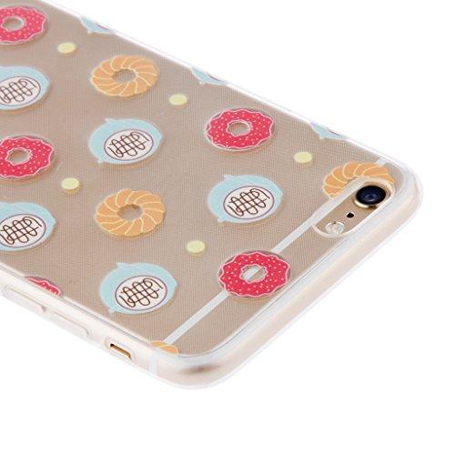 Generic Klar Donut Kreisringmuster Telefon-Kastenabdeckung Shell Für Iphone 6 6s 6 Plus - Für Iphone 6 Plus Color1 Für Iphone 6 Plus Color 6