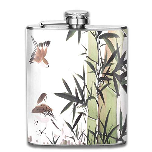 eel Flask Halloween Seamless Pattern Spiders Web Whiskey Flask Vodka Portable Pocket Bottle Camping Wine Bottle 7oz Suitable for Men and Women New5 ()